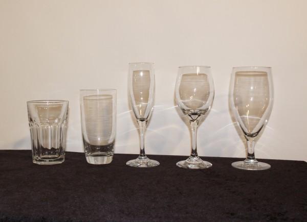 glassware rentals Chattanooga